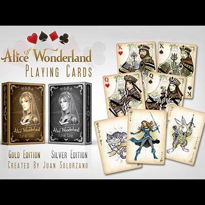 Alice of Wonderland Silver by Gamblers Warehouse - Trick