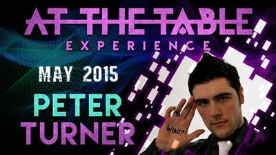 At the Table Live Lecture Peter Turner 5/20/2015 video DOWNLOAD