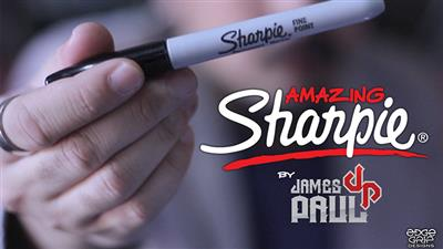 Amazing Sharpie Pen (White) by James Paul - Trick