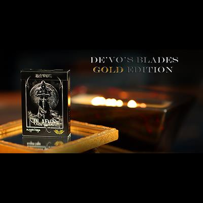 BLADES ''Gold Edition'' Deck by Handlordz - Trick