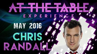 At the Table Live Lecture Chris Randall May 18th 2016 video DOWNLOAD