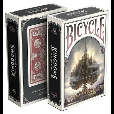 Bicycle Kingdoms (Red) Playing Cards