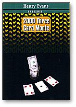 3 Card Monte 2000 by Henry Evans - Trick