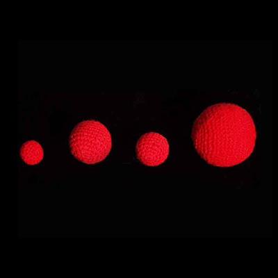 1.75'' Crochet Balls (Red) by Uday - Trick