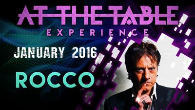 At the Table Live Lecture Rocco January 6th 2016 video DOWNLOAD