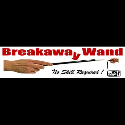 Breakaway Wand (with extra piece & replacement cord) by Mr. Magic - Trick