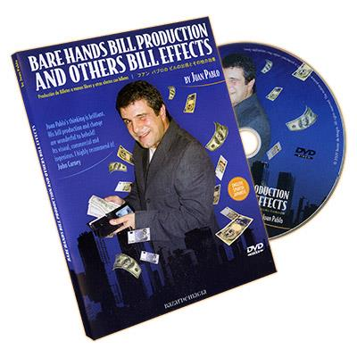Bare Hands Bill Production and Other Bill Effects (incl. Gimmicks) by Juan Pablo - DVD