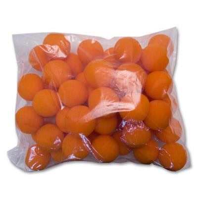 2'' Super Soft Sponge Ball (Orange) Bag of 50 from Magic by Gosh