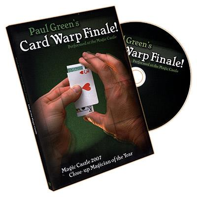 Card Warp Finale by Paul Green - DVD
