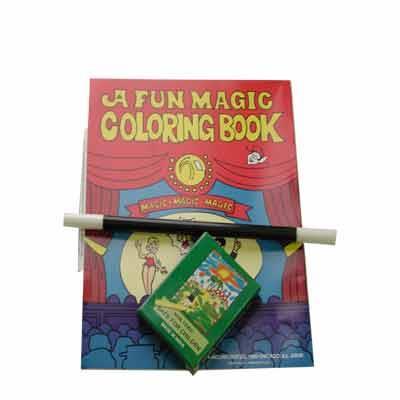 Coloring Book Kit Crayon Wand Book By Royal Magic