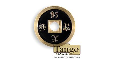 Dollar Size Chinese Coin (Black) by Tango (CH029)