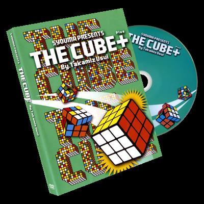 The Cube & Cube PLUS (Gimmicks & DVD) Bundle Deal by Takamitsu Usui