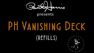 Paul Harris Presents PH Vanishing Deck Refill Pack - Trick