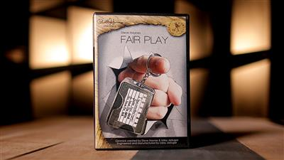 Paul Harris Presents Fair Play French (Gimmick)(Black dot) by Steve Haynes - Trick