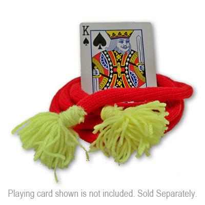 Lassoing A Card - Advanced - Deluxe - Woolen* by Uday - Trick