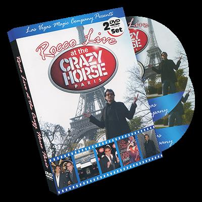 Rocco LIVE! at the Crazy Horse (2 DVD set) by Rocco - DVD