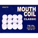 Mouth Coil White 75 feet