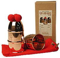 Cups & Balls Copper Regular by Bazar de Magia - Trick