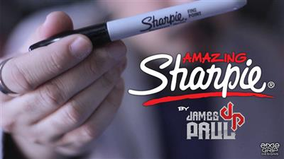 Amazing Sharpie Pen (Red) by James Paul -Trick