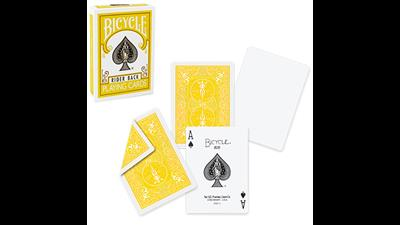 Bicycle Yellow Playing Cards by US Playing Cards