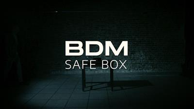 BDM Safe Box (Gimmick and Online Instructions) by Bazar de Magia - Trick