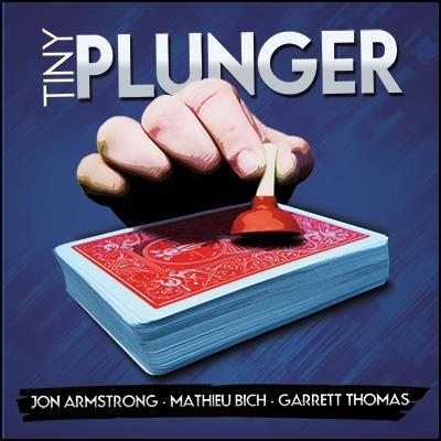 Tiny Plunger by Jon Armstrong, Mathieu Bich and Garrett Thomas - DVD