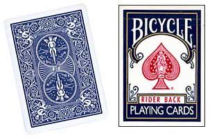 Cheek to Cheek Deck Bicycle (Blue)