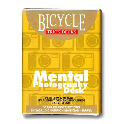 Mental Photo Deck Bicycle (Blue) - Trick