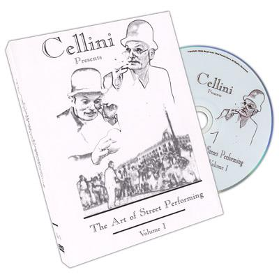 Cellini Art Of Street Performing Volume 1 - DVD
