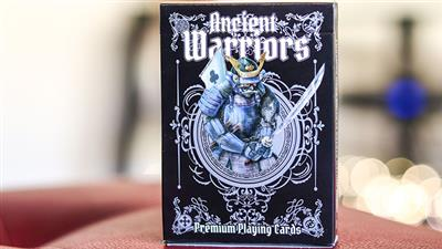 Ancient Warriors (Black) Playing Cards