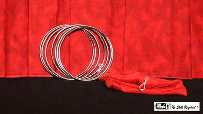 5'' Linking Rings SS (7 Rings) by Mr. Magic - Trick