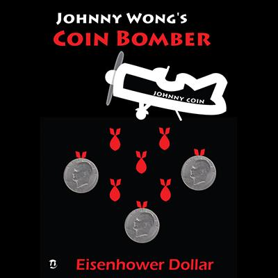Coin Bomber EISENHOWER (with DVD) by Johnny Wong - Trick