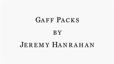 Bicycle Gaff Pack BLUE (5 Cards) by The Hanrahan Gaff Company