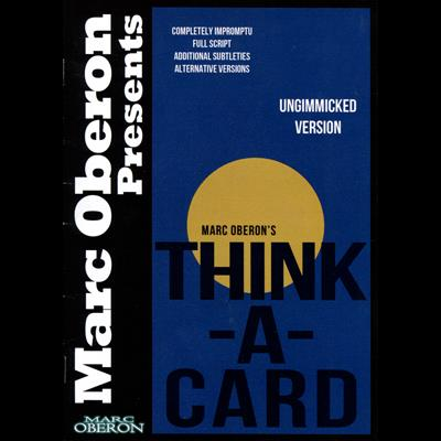 Thinka-Card (ungimmicked version) by Marc Oberon - ebook