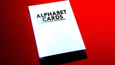 Alphabet Playing Cards Bicycle No Index by PrintByMagic - Trick