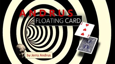 Andrus Floating Card Blue (Gimmicks and Online Instructions) by Jerry Andrus - Trick