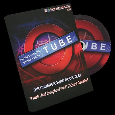 Tube (2 Gimmicked Maps both Close Up and Parlor) by Russell and Ethan Leeds - Trick