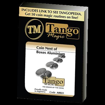 Coin nest of Boxes (Aluminum) by Tango - Trick (A0021)
