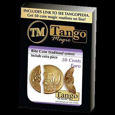 Biting Coin (50c Euro Traditional) (E0045) from Tango