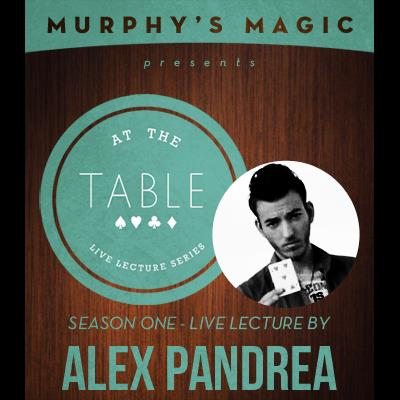 At The Table Live Lecture - Alex Pandrea May 7th 2014 video DOWNLOAD