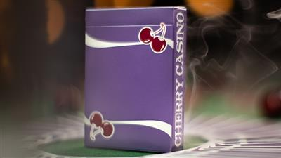 Cherry Casino Fremonts (Desert Inn Purple) Playing Cards by Pure Imagination Projects