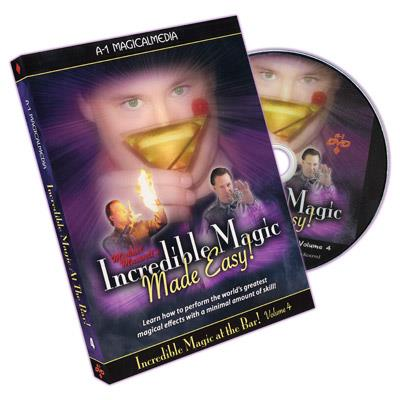 Incredible Magic At The Bar - Volume 4 by Michael Maxwell - DVD