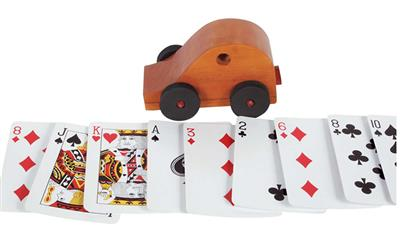Card Buggy (Wood) - Trick