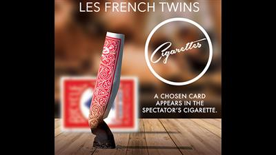 CIGARETTES (Blue) by Les French TWINS - Trick