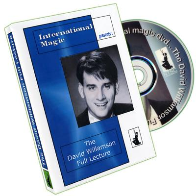 David Williamson Full Lecture by International Magic - DVD