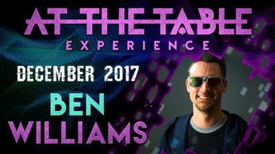 At The Table Live Lecture - Ben Williams December 6th 2017 video DOWNLOAD