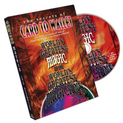 Card To Wallet (World's Greatest Magic) - DVD