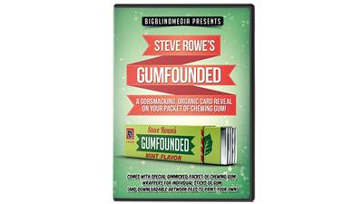 GUMFOUNDED (Online Instructions and Gimmick) by Steve Rowe - Trick