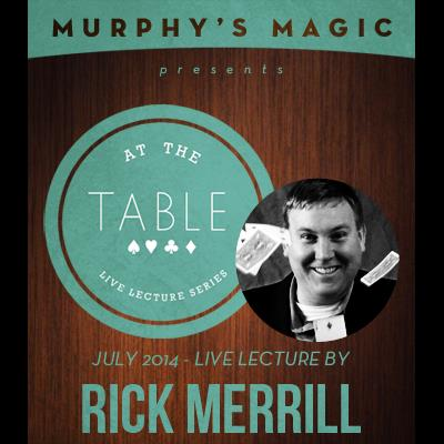 At The Table Live Lecture - Rick Merrill July 16th 2014 video DOWNLOAD