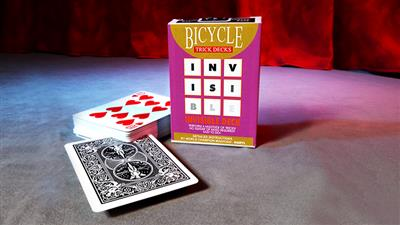 Invisible Deck Bicycle (Black) - Trick
